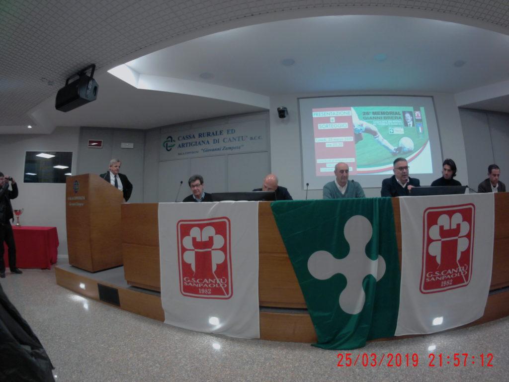 Memorial Gianni Brera anno 2019